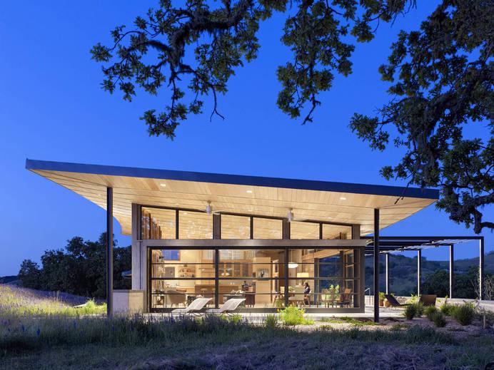 Caterpillar House by Feldman Architecture - www.homeworlddesign. com (8) #ranch #house #california #modern