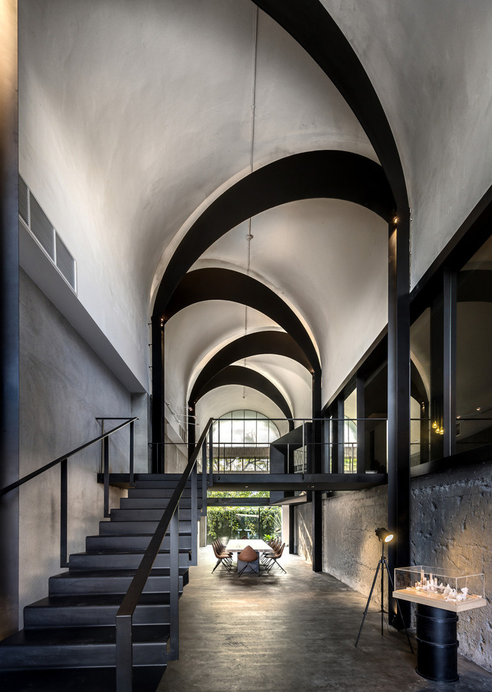 Architect's office of Park + Associates #interior #line #space #architecture #arch #light