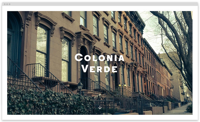 coloniaverde on wow-web #website #web #webdesign #restaurant