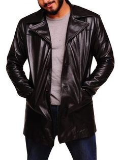 FilmStarLook Providing You Wire Jimmy Dominic West Leather Coat In Our Shop. Visit Our Online Store And Purchase Your Best Product Here. #JimmyDominic #LeatherCoat #MenFashion #filmstarlook http://bit.ly/2mdA74u