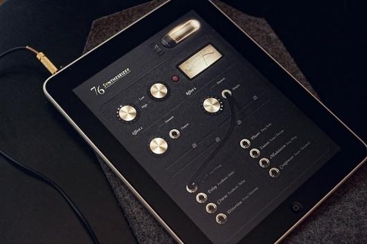 Looks like good iPad App Interface by Jonas Eriksson #music #ipad #app #soundboard