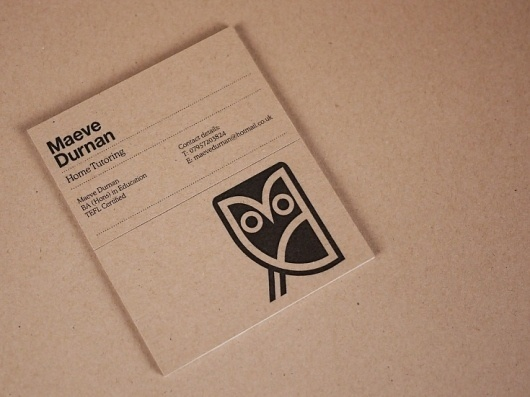 Graphical House - Maeve Durnan #id #logo #owl #package