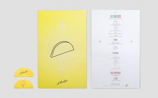 Anagrama | La Fábrica Del Taco #card #menu #identity #business