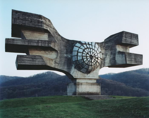 yugoslavia monument #concrete #monument #yugoslavia