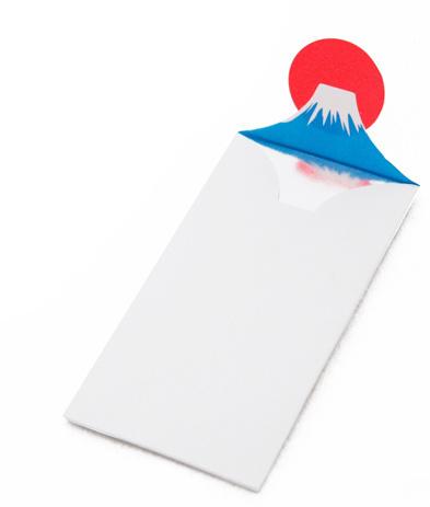 Designersgotoheaven.com Mount Fuji envelope. #color #envelope