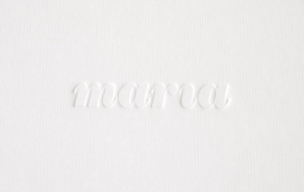 Print Portfolio on the Behance Network #logo #print #maria #identity