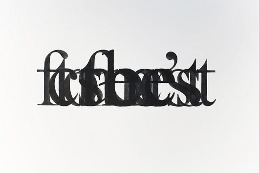 GreyHandGang™ #typography