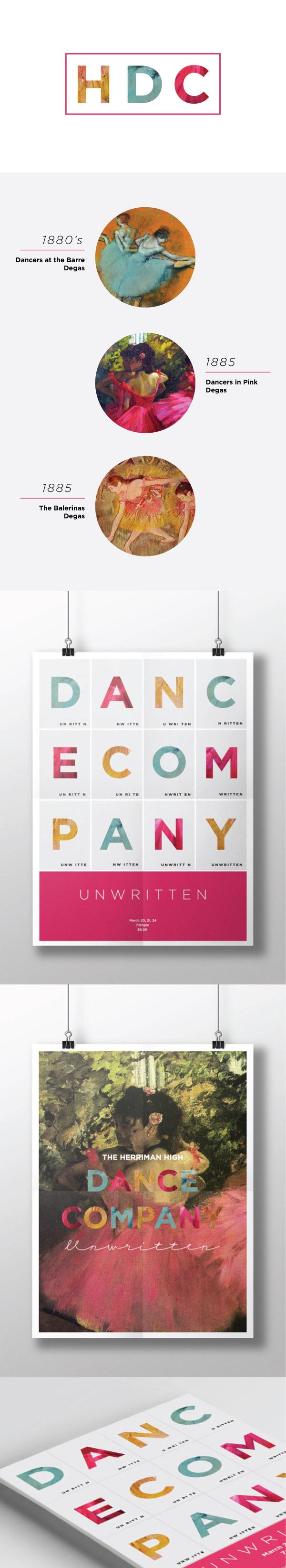 Degas Dance Poster #modern #dance #unwritten #fuschia #degas #poster