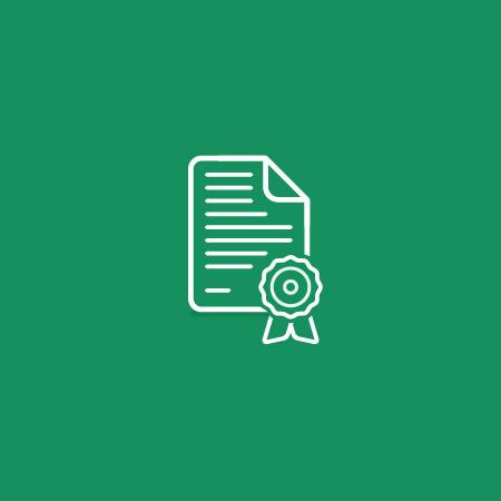Ross Gunter — Portfolio Journal #icon #simple #minimal #rossgunter #certificate