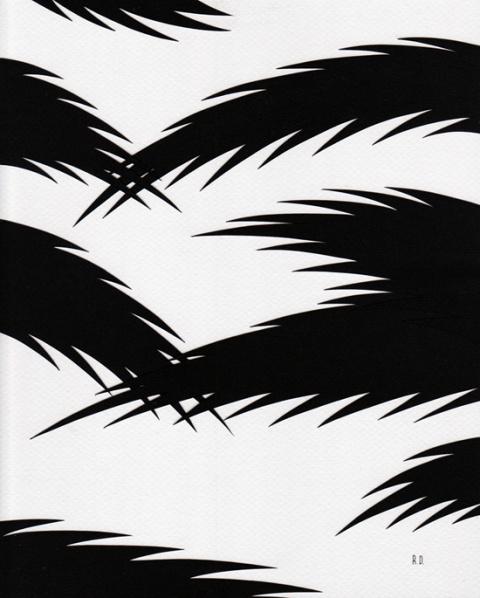 Ryan De La Hoz | PICDIT #paper #design #black #art
