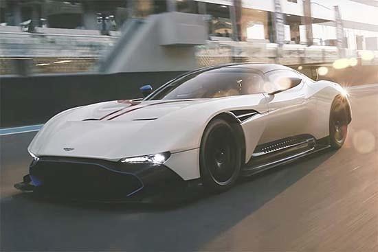 Top Gear Takes the Aston Martin Vulcan for a spin at Yas Marina Circuit. #AstonMartinVulcan #YasMarina