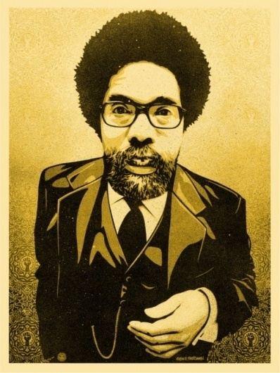Cornel West Print - OBEY GIANT #feirey #illustration #poster #obey #shepard