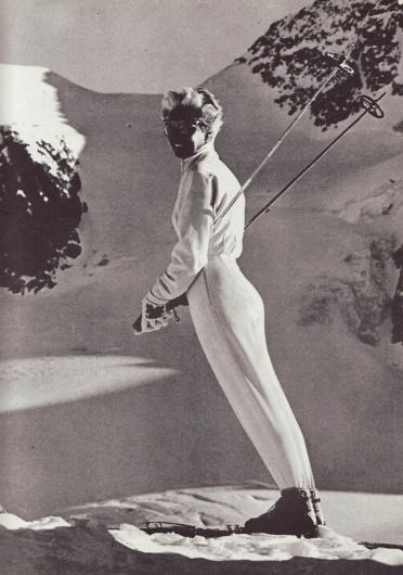 Poppy Gall Blog · 60's ski fashion #60s #foto