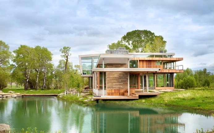 Big Timber Riverside House