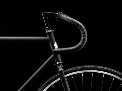THE BROWN WORKSHOP #black #bike #bicycle