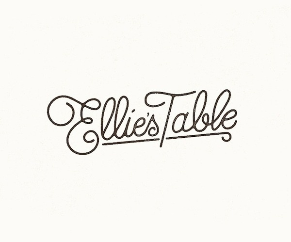 Ellie's Table Branding #branding