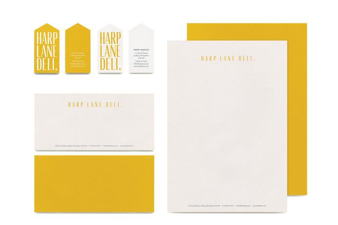 Harp Lane Deli. - Burgess Studio #branding