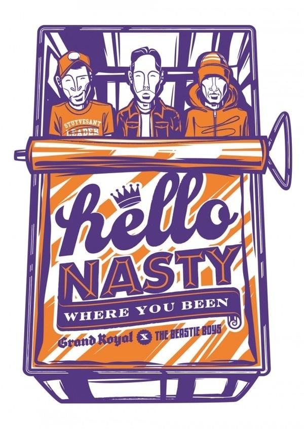 Beastie Boys | Illustrator: Travis Price: Melbourne Victoria Australia Vector #vector #beastie #risograph #illustration #boys
