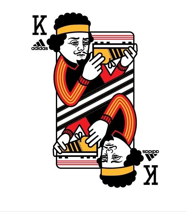 adidas « Nathan Shinkle #card #illustration #apparel