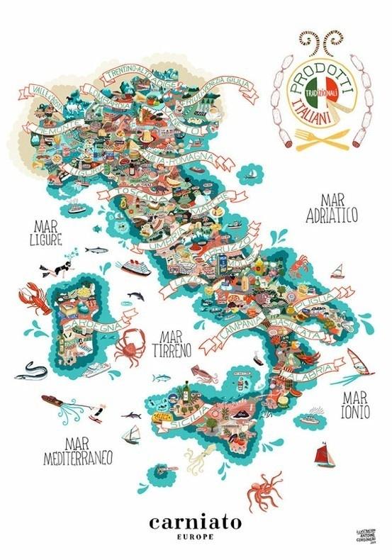 Studioplastac #italy #map