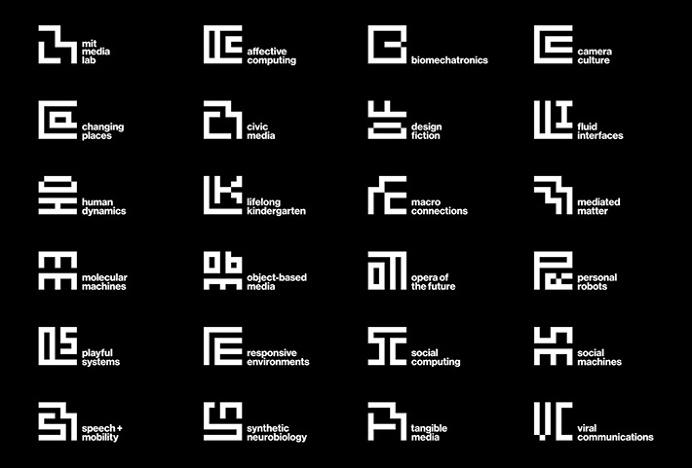 MIT Media Lab by Pentagram #logo #symbol