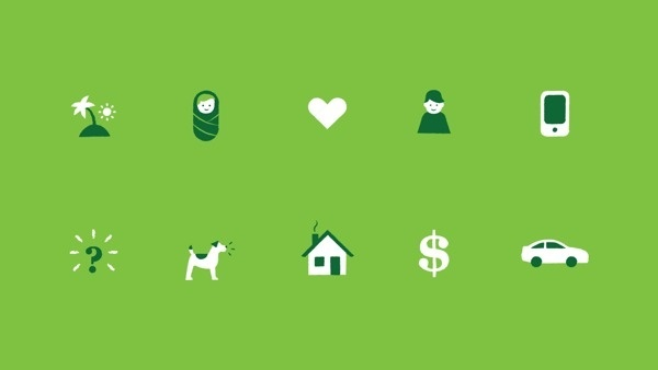 TAL Life Insurance Video on Behance #pictogram #iconography #icon #sign #picto #symbol