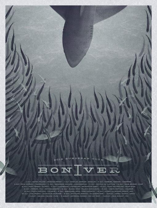 bon iver poster #bon #fish #iver #poster