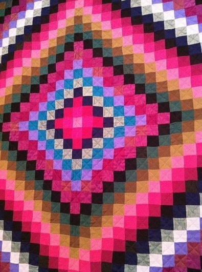 All sizes | Untitled | Flickr - Photo Sharing! #quilt #folk #pink #design #hot #art