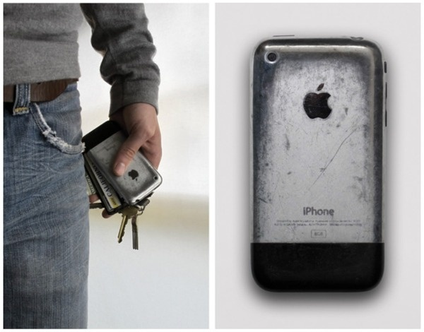 Original iPhone aged to perfection #iphone #aged