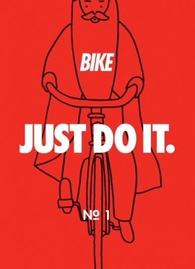 Bike – Just do it | #illustration #bike