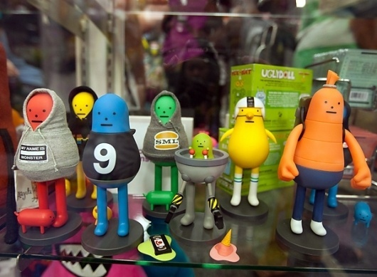 SDCC 2011: TOYS! (NOTCOT) #character #toy