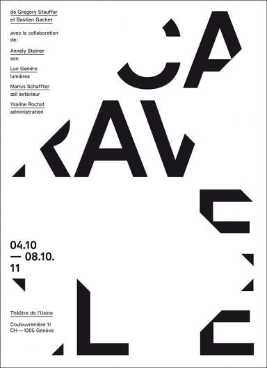 League / Bench.li #type #layout #poster