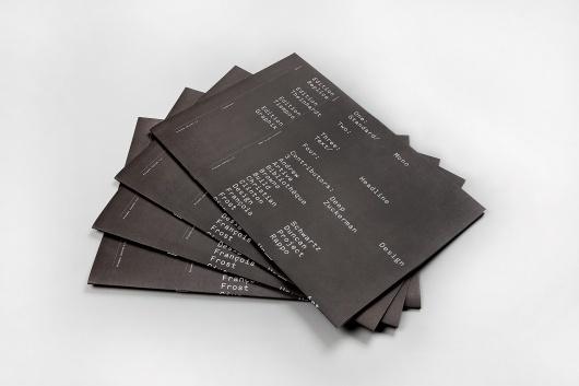 Process: Edition 4.5 - Hunt Studio | Multi-disciplinary design studio | Melbourne #layout #design #black #typography