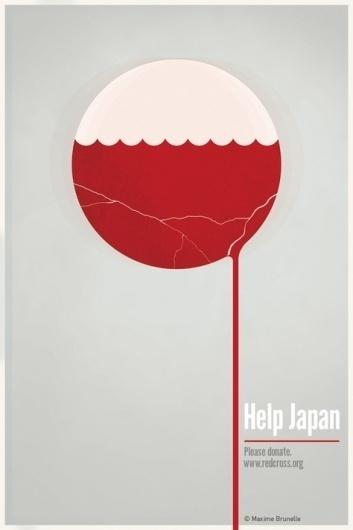Help Japan on the Behance Network