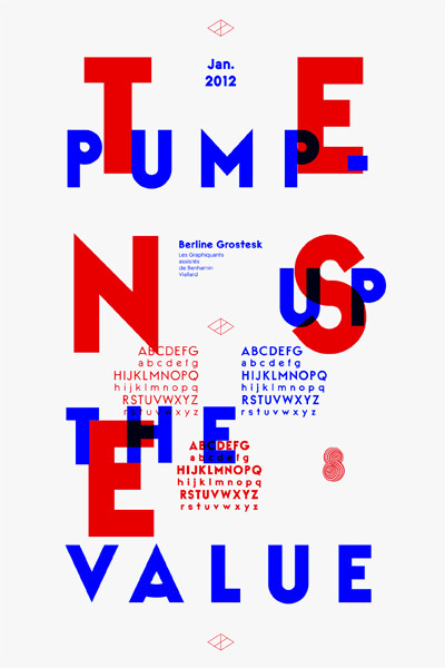 Berline #typeface #french #les graphiquants