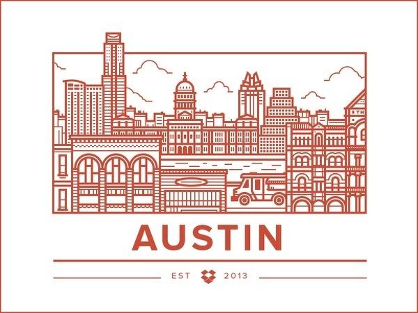 Austin Office #illustration