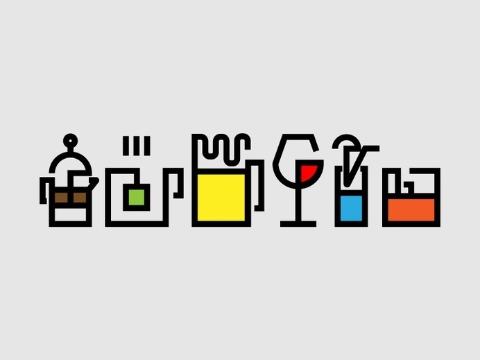 drink icons #icon #sign #picto #symbol #drinks