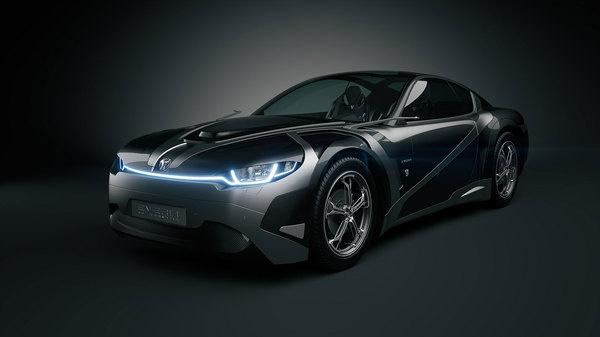 Tronatic Everia Car #tech #amazing #modern #innovation #design #futuristic #gadget #ideas #craft #illustration #industrial #concept #art #cool