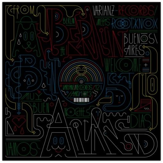 Varianz Records / 12 - 14 / Vinyl on Typography Served #cover #album