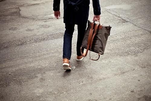 Convoy #minimal #fashion #street #man #clean #bag
