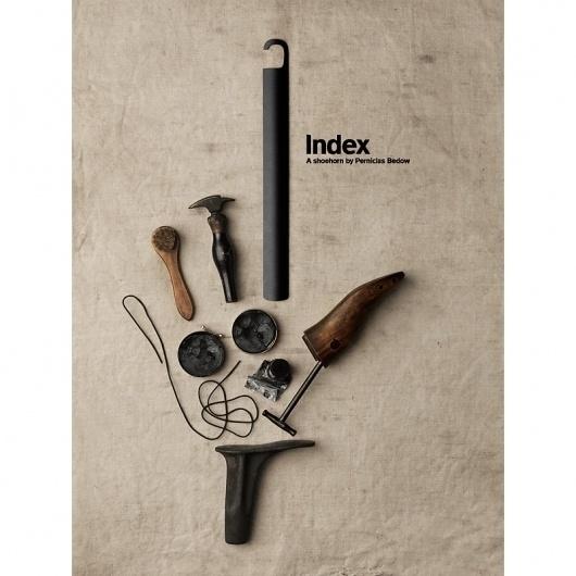Bedow — Examples of Work — Product, Essem Design #index #shoehorn #bedow