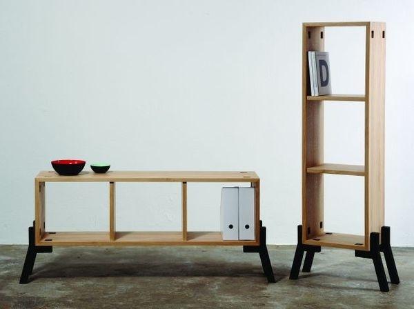 Contemporary The Tonic Sideboard Bookcase Contemporary #interior #design #decor #home #furniture #architecture