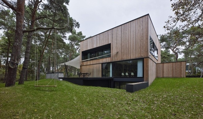 Very Compact and Tight Monolithic Shell House by Ultra Architects #architecture