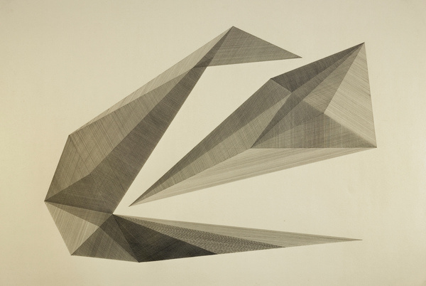 untitled (forms) | Flickr Photo Sharing! #abstract #geometry #lines #minimal #painting #drawing