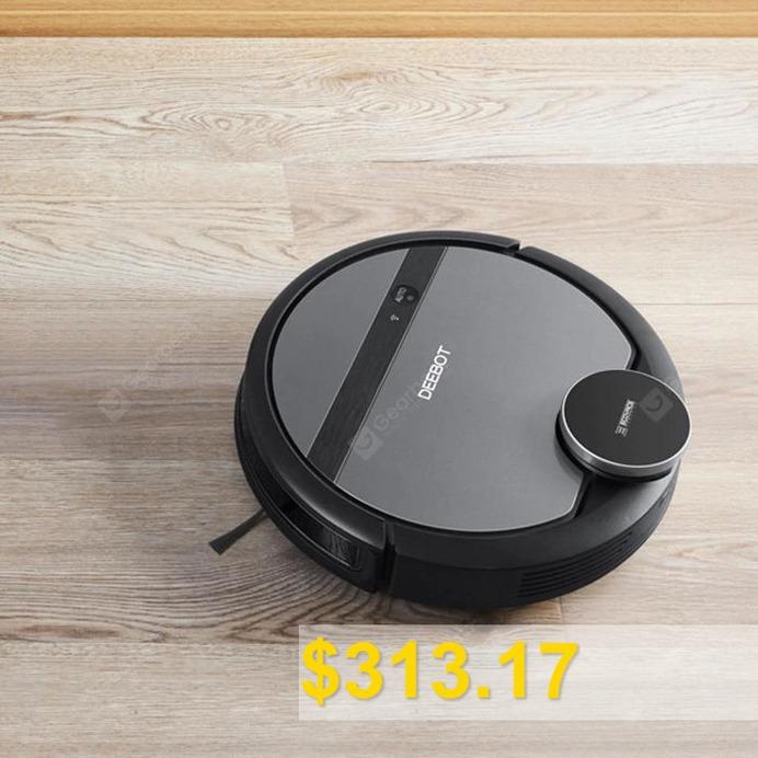 ECOVACS #DEEBOT #901 #robot #vacuum #cleaner #- #CARBON #GRAY