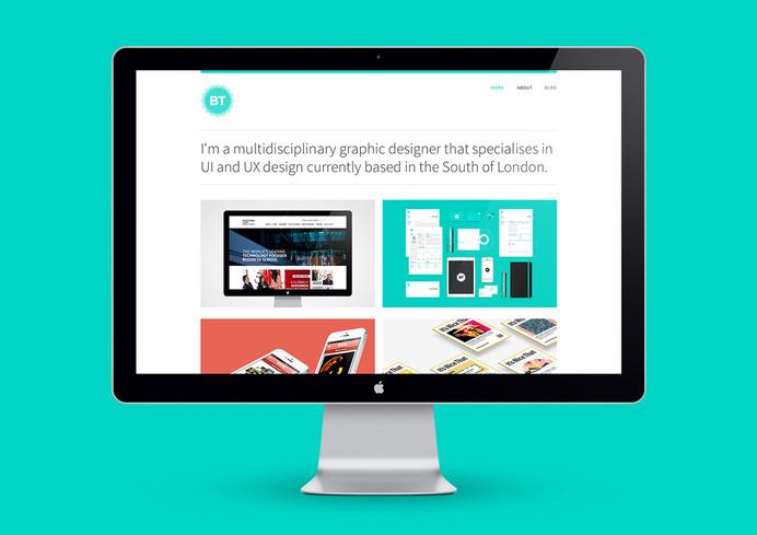 Fresh new fully-responsive portfolio. www.bryntaylor.co.uk #user #clean #digital #design #brand #identity #web #bryn #taylor #portfolio #interface #ui #experience #grid #personal #typography #ux #designer #graphic #minimal #layout