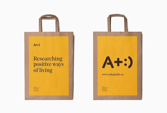 Adisgladis by Bedow #brand design #packaging #bag