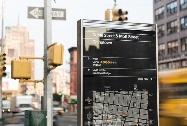 WalkNYC #tourism #sign #signage #york #new