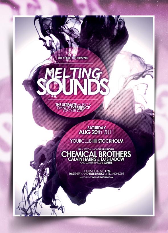 poster #melting #poster #sounds