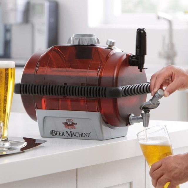 Beer Machine Home Beer Making Kit #tech #flow #gadget #gift #ideas #cool